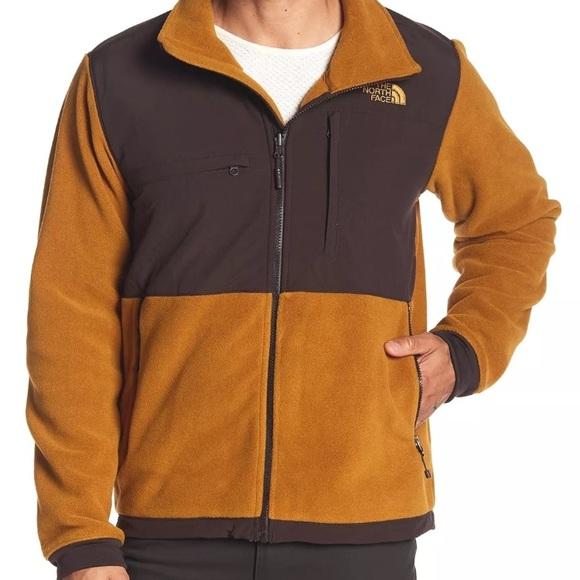 ce5a6fa61afd The North Face Men s Denali 2 Golden Brown Jacket